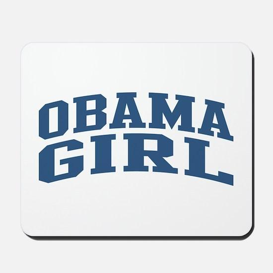 Obama Girl Nickname Collegiate Style Mousepad