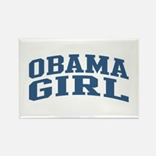 Obama Girl Nickname Collegiate Style Rectangle Mag