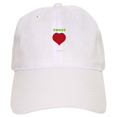 Tweet Heart Baseball Cap