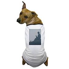 grey buddah Dog T-Shirt
