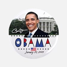 """New Obama White House 3.5"""" Button (100 pack)"""