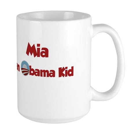 Mia - Obama Kid Large Mug