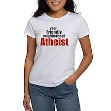 Friendly neighborhood atheist Tee