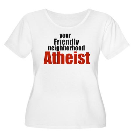 Friendly neighborhood atheist Women's Plus Size Sc