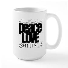 peacelovemusic Mugs
