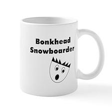 Bonkhead Snowboarder Mug