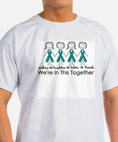 Unique Ovarian cancer T-Shirt