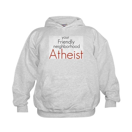 Friendly neighborhood atheist Kids Hoodie