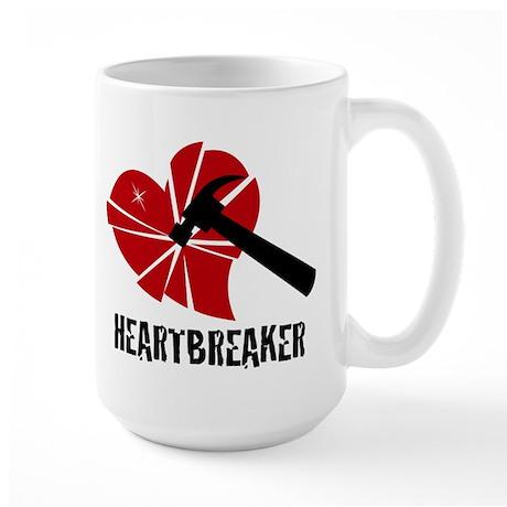 """Heartbreaker"" Large Mug"