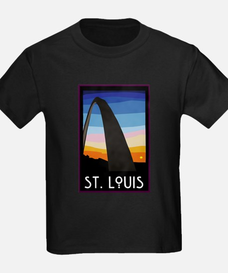 St. Louis Arch Ash Grey T-Shirt