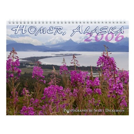 Homer, Alaska Wall Calendar