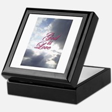 GOD IS LOVE Keepsake Box