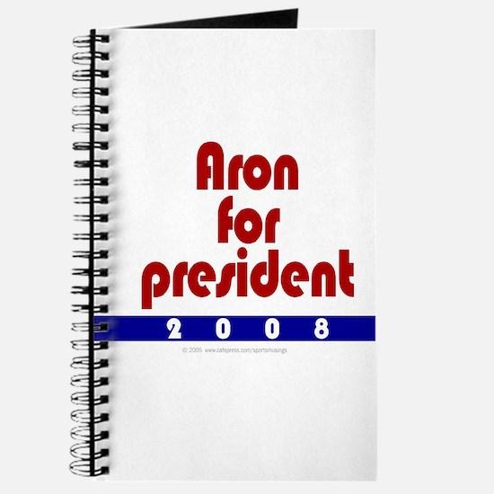 Aron for president. Journal