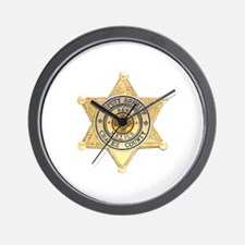 Chavez County Sheriff Wall Clock