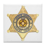 Chavez County Sheriff Tile Coaster