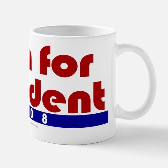 Aron for president. Mug