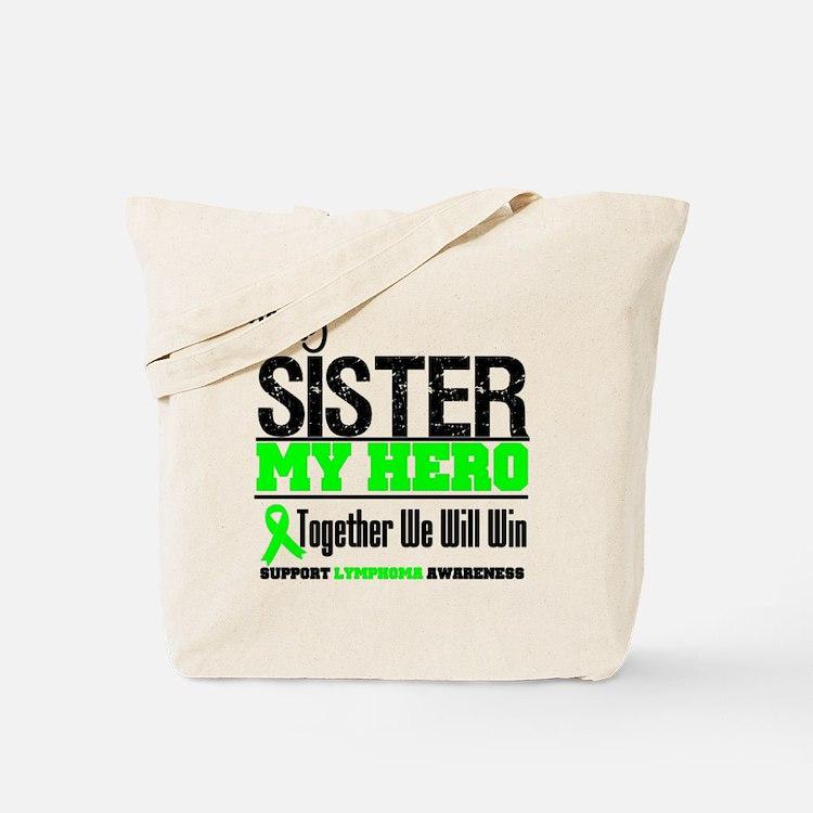 Lymphoma Hero Sister Tote Bag