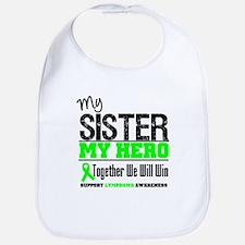 Lymphoma Hero Sister Bib