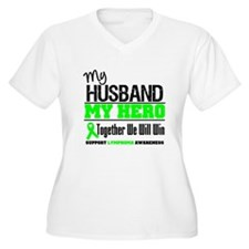 Lymphoma Hero Husband T-Shirt