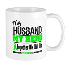 Lymphoma Hero Husband Mug