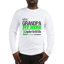 LymphomaHeroGrandpa Long Sleeve T-Shirt