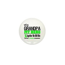 LymphomaHeroGrandpa Mini Button (100 pack)