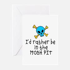 RockBaby Mosh Pit Greeting Cards (Pk of 10)