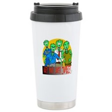 Funny Obey Your Inner Zombie Travel Mug