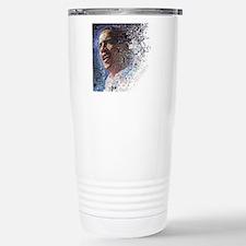 Cute Obama yes we did Thermos Mug