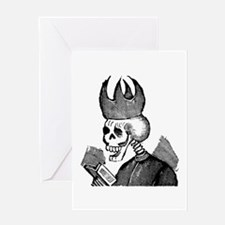 Padre Calavera Greeting Card