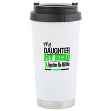 Lymphoma Hero Travel Mug