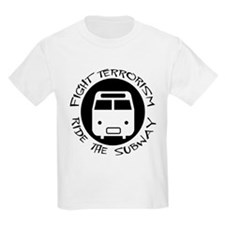 Ride the Subway Kids T-Shirt