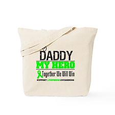 Lymphoma Hero Daddy Tote Bag