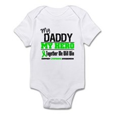 Lymphoma Hero Daddy Infant Bodysuit