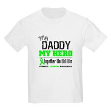 Lymphoma Hero Daddy T-Shirt