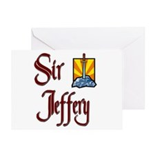 Sir Jeffery Greeting Card