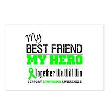 Bestfriend Lymphoma Hero Postcards (Package of 8)