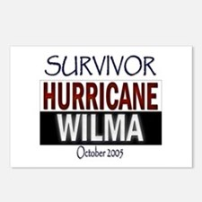 Survived Hurricane Wilma Postcards (Package of 8)