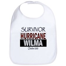 Survived Hurricane Wilma Bib