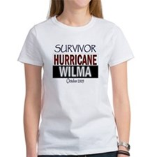 Survived Hurricane Wilma Tee
