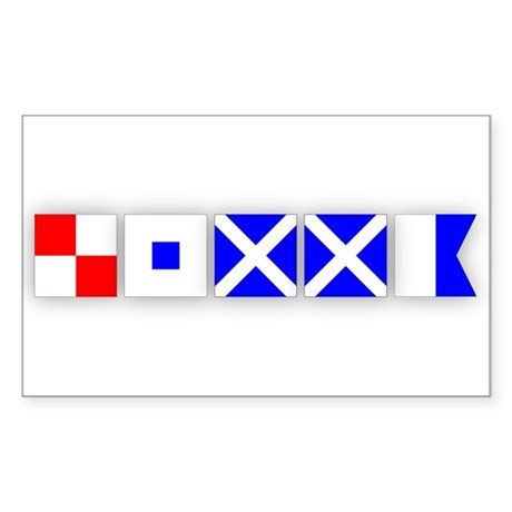 USMMA 2 Rectangle Sticker