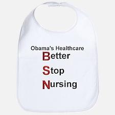 Obama Healthcare Bib
