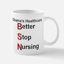 Obama Healthcare Mug