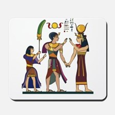 Queen Isis & Ramesses Mousepad
