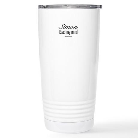 SIMON MENTALIST Stainless Steel Travel Mug