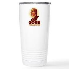 Al Gore for Dictator Travel Mug