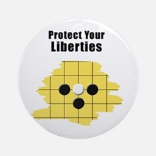 Protect Your Liberties Ornament (Round)