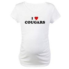 I Love COUGARS Shirt