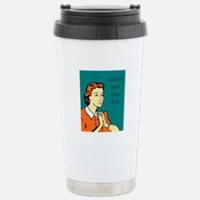 i can't wait! Stainless Steel Travel Mug