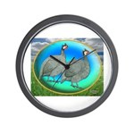 Guineas On Opal Wall Clock